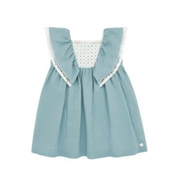 Girls Blue Cloud Dress