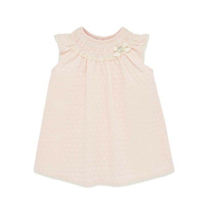 Baby Girls Tangerine Dress