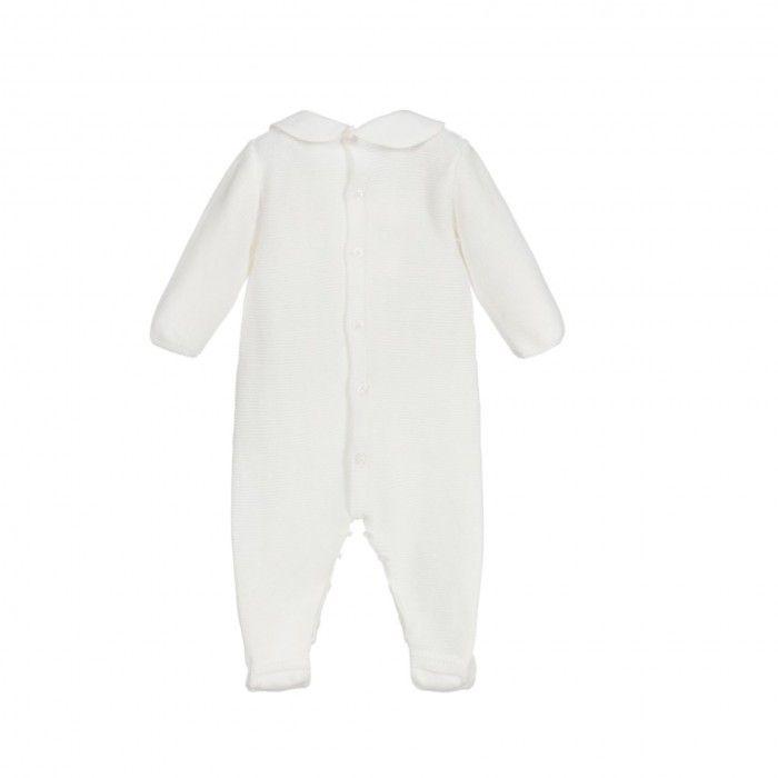 Baby Boys Ivory Babygrow