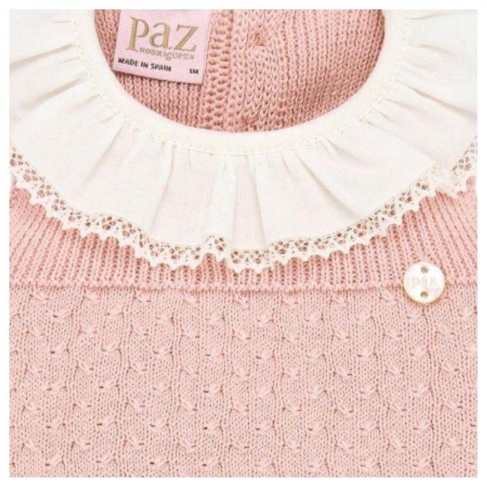 Powder Pink Knitted  Shortie