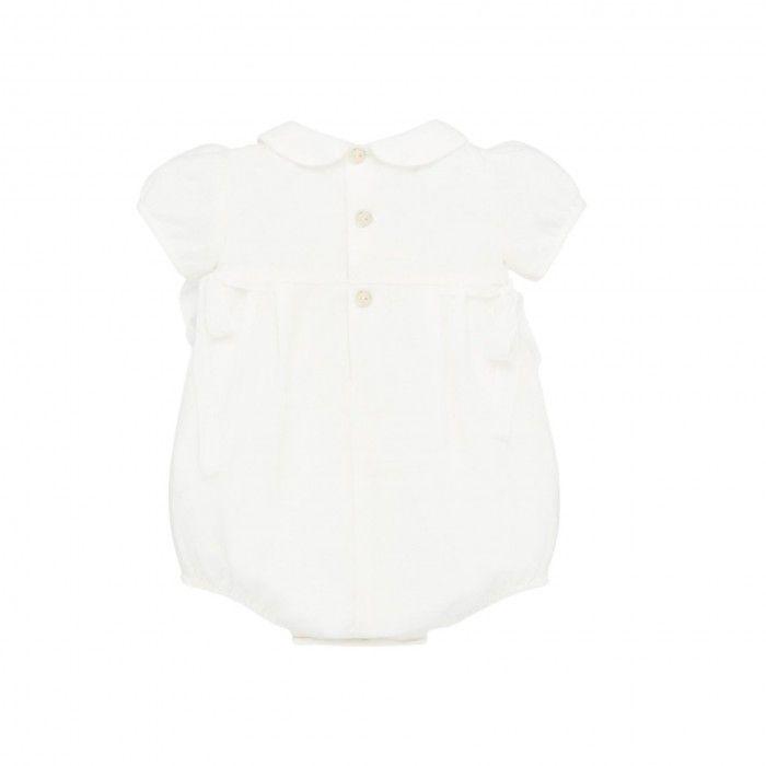 Baby Organza Ivory Shortie