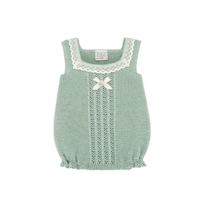 Mint Green Knitted Shortie