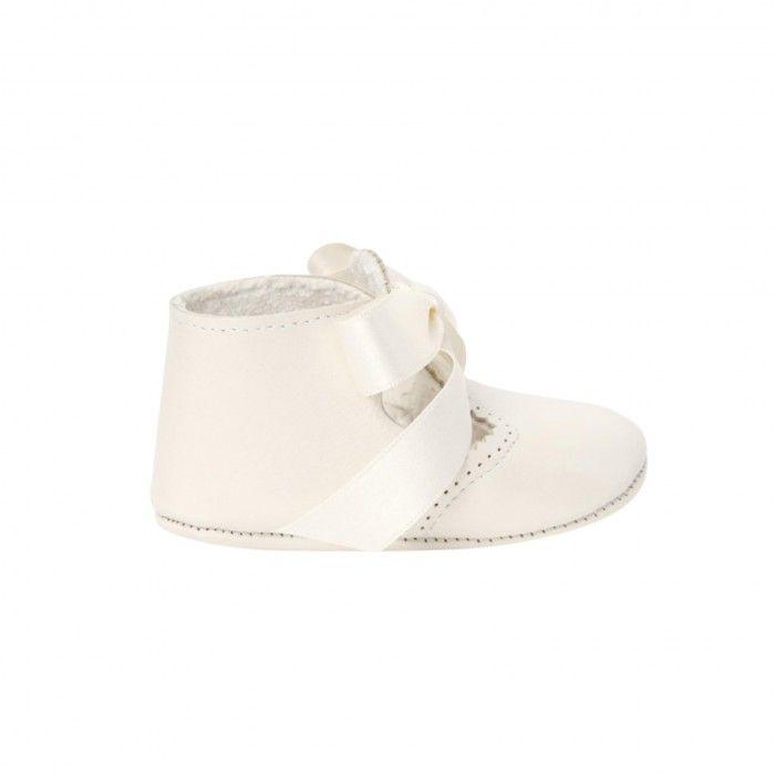 Sapato Bebé Pele Bautizo