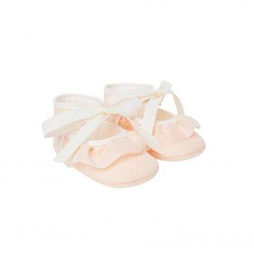 Tangerine Pre-Walker Shoes