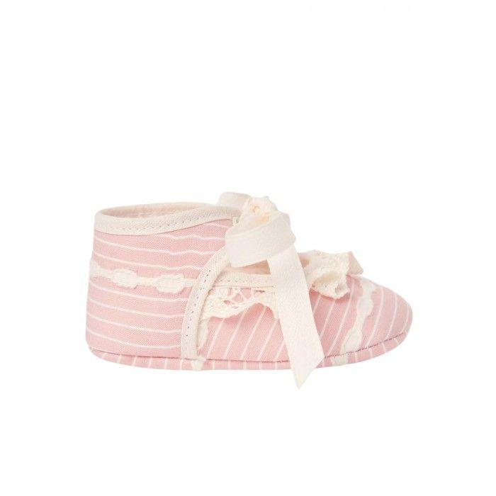 Powder Pink Pre-Walker Shoes