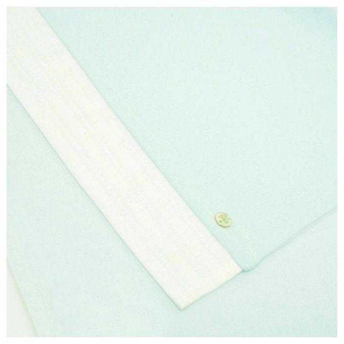Aquamarine Cotton Blanket