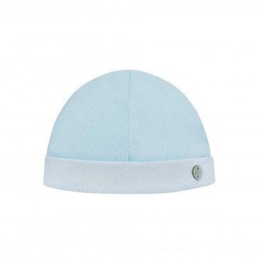 Chalk Blue Baby Hat