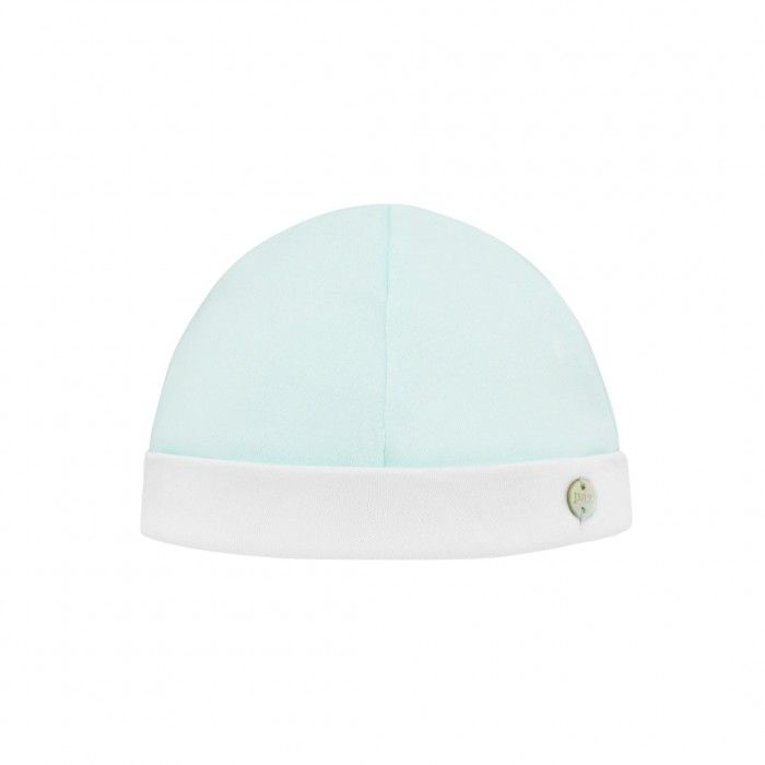 Aquamarine Cotton Baby Hat