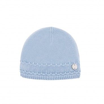 Blue Cloud Baby Hat