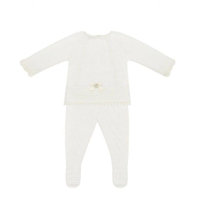 Ivory 2 Piece Babysuit