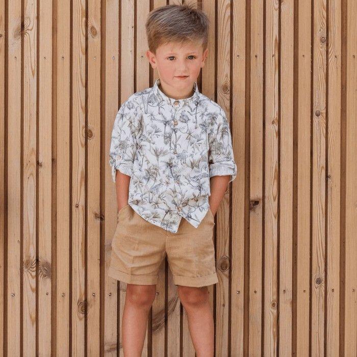 Safari Boys Shorts Set