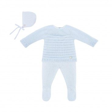 Newborn Blue 3 Piece Set