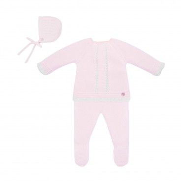 Newborn Pink 3 Piece Set