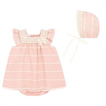 Powder Pink Dress Set