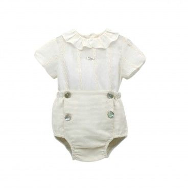 Baby Ivory Shortie Set