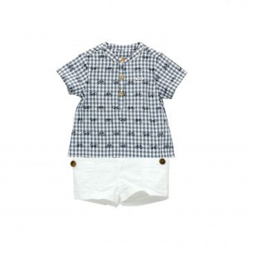 Tropic Baby Boys Shorts Set