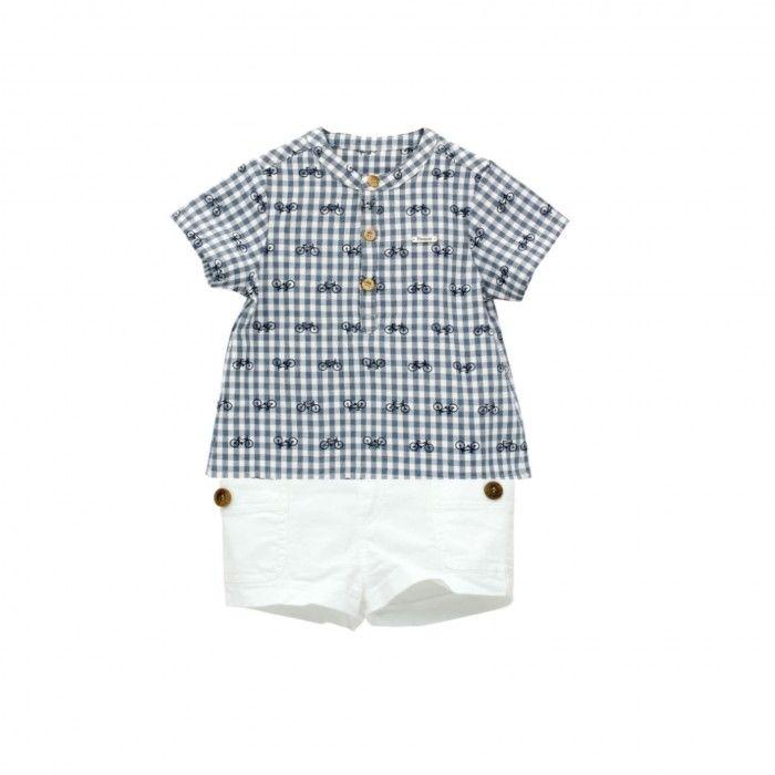Tropic Baby Boys Shorts Set