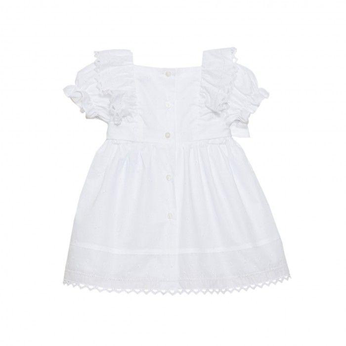 Vestido Branco Algodão Patachou