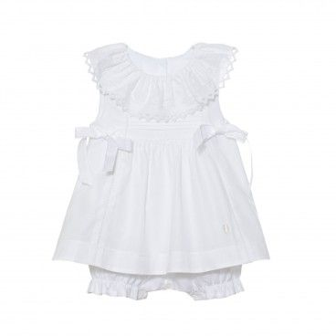 Patachou White Cotton Shortie