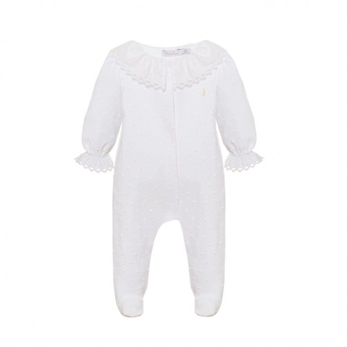 Babygrow Ponto Branco Menina