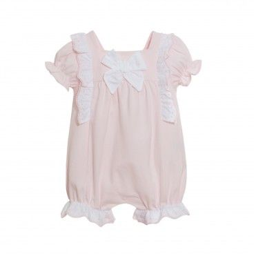 Pink Cotton Baby Shortie