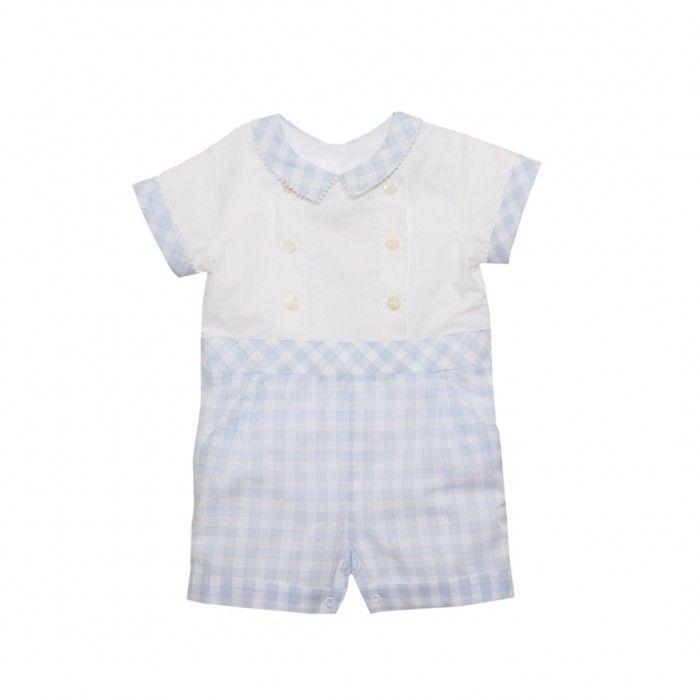 Blue Vichy Baby Shortie