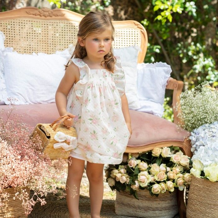 Vestido Floral Menina Patachou