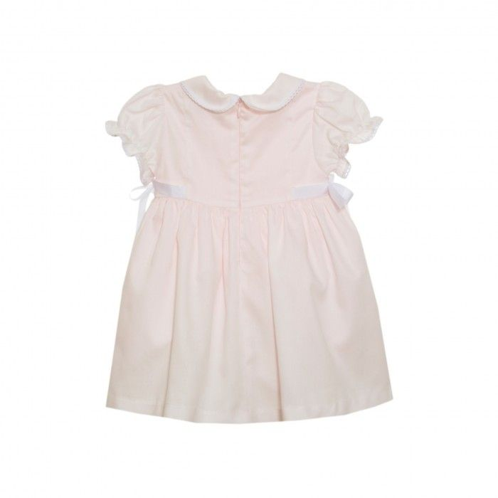 Vestido Algodão Rosa Menina