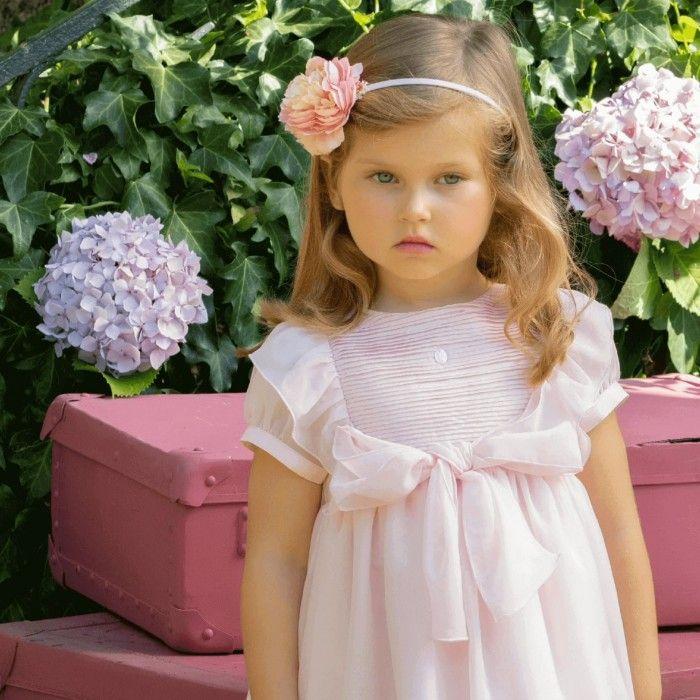 Vestido Rosa Chiffon Patachou