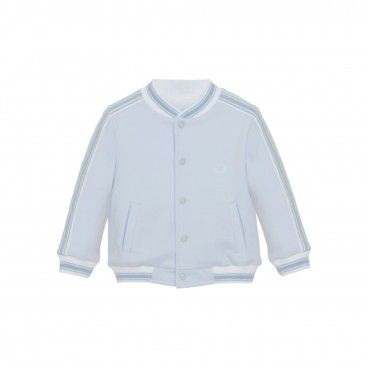 Mini Boy Pale Blue Bomber