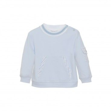 Mini Boy Blue Sweater