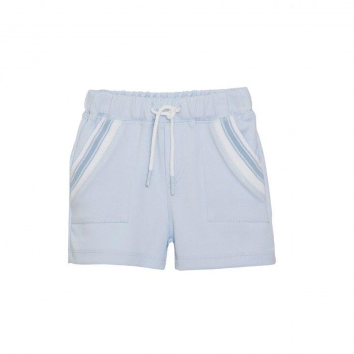 Mini Boy Pale Blue Shorts