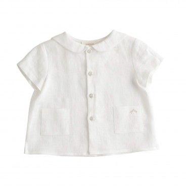 Nanos Baby Ivory Shirt