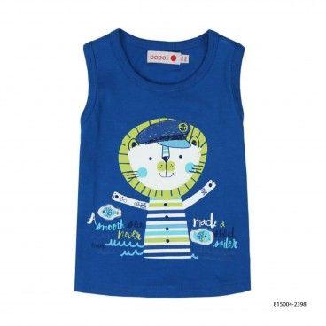 T-Shirt de Algodão para o Bebé Menino