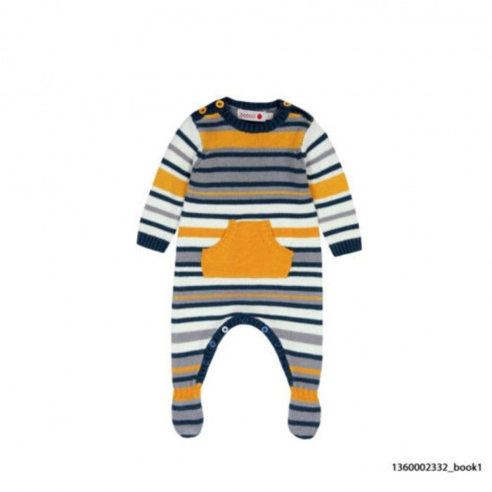 Knitted Wool Babygrow