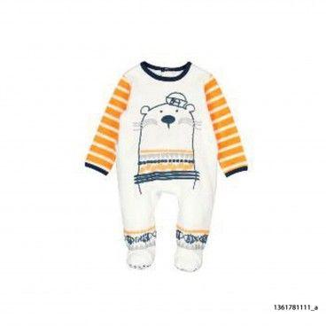 Babygrow Azul & Amarelo Bebé