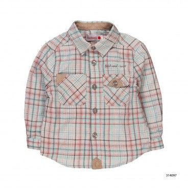 Camisa quadrados Nordic Nature