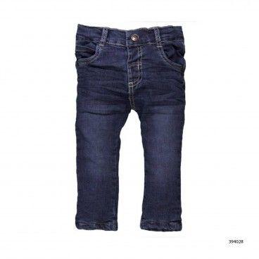 Boys Elastic Denim Pants