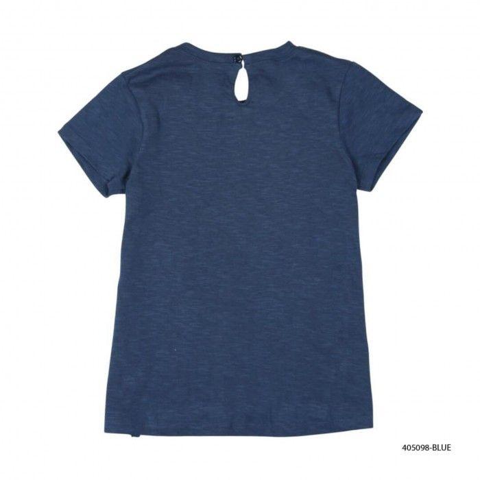 T-Shirt Azul Menina