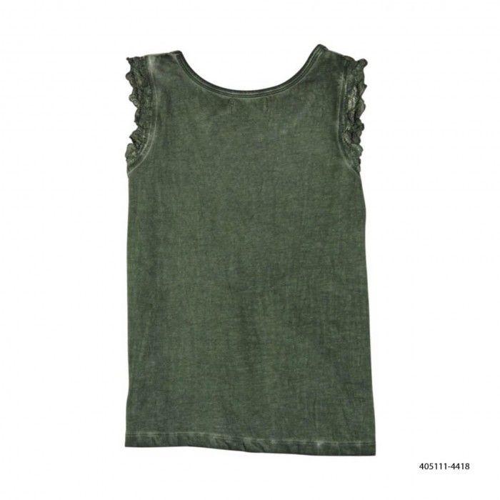 T-Shirt Algoão Verde Caqui