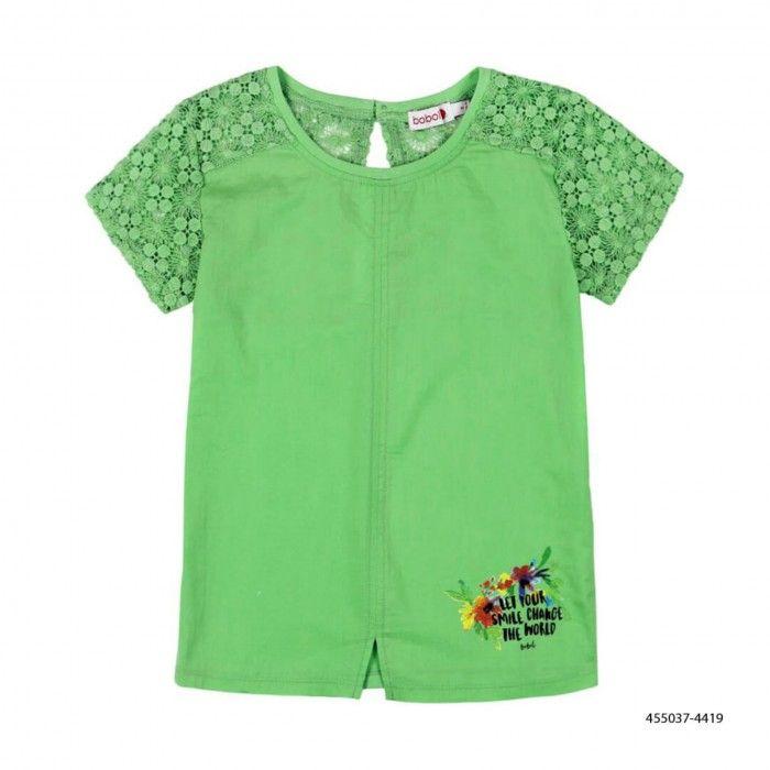 Blusa Verde Menina