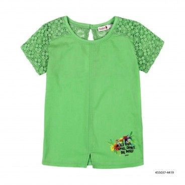 Girls Green Shirt
