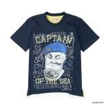 T-Shirt Azul Menino Boboli