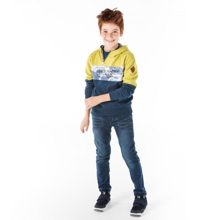 Sweatshirt Mostarda com Capuz