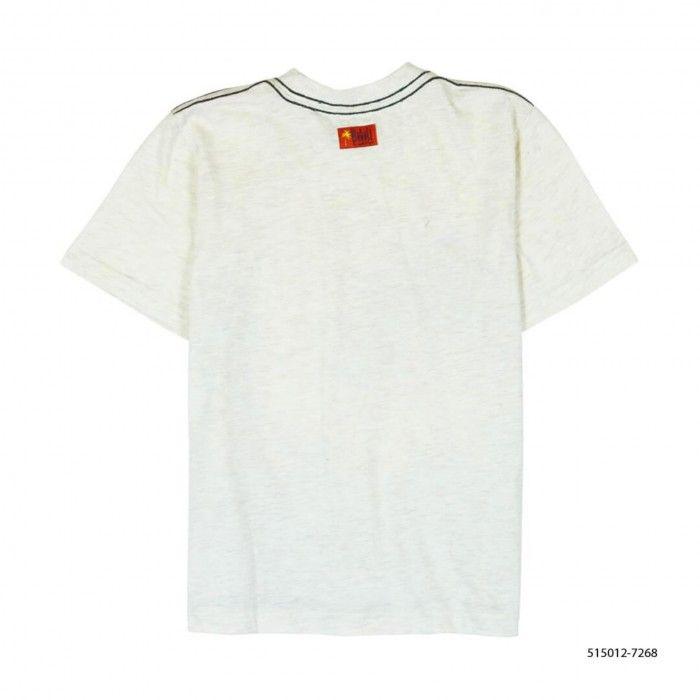 T-Shirt Algodão Estampada Menino