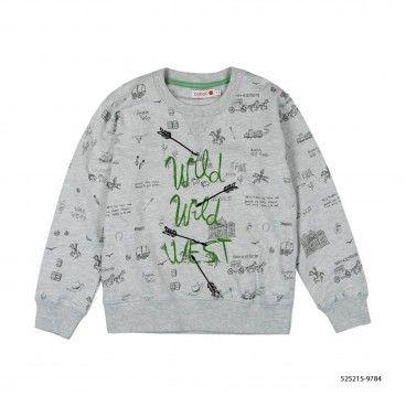 Fleece sweatshirt for boy
