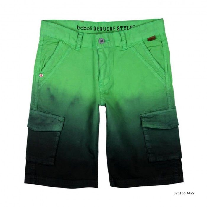 Bermuda Verde Sarja Elástica
