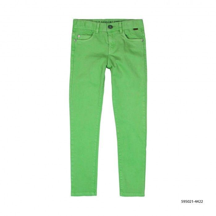 Calça Verde Sarja Elástica