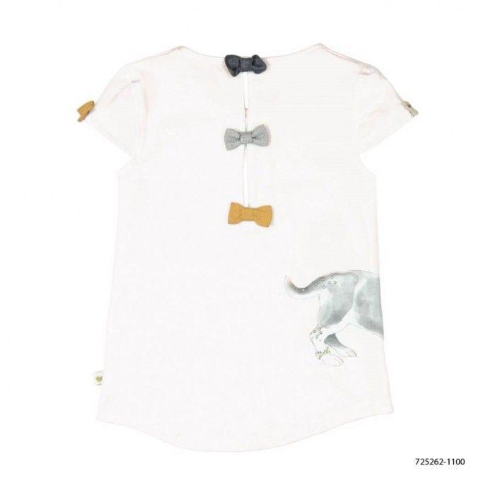 T-Shirt Malha Elástica Menina