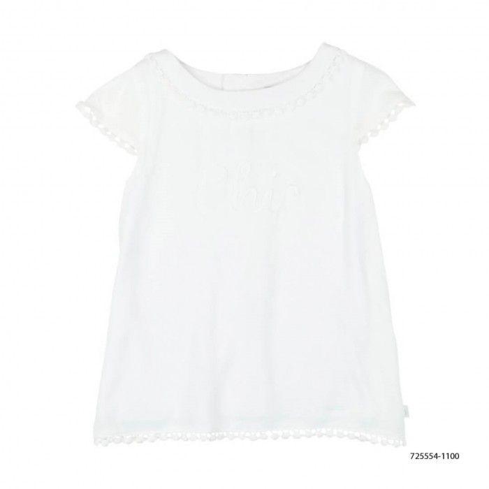 Blusa Branca Menina